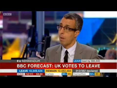 BBC News Referendum the moment they knew 24/6/16