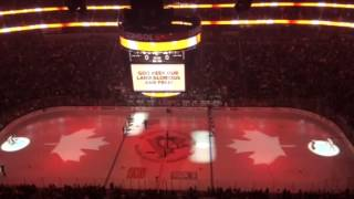 O Canada at Penguins-Flyers