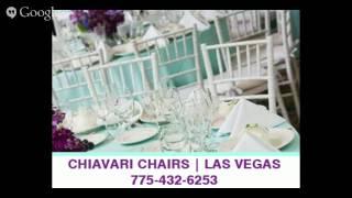 Chiavari Chairs Las Vegas | (775) 432-6253
