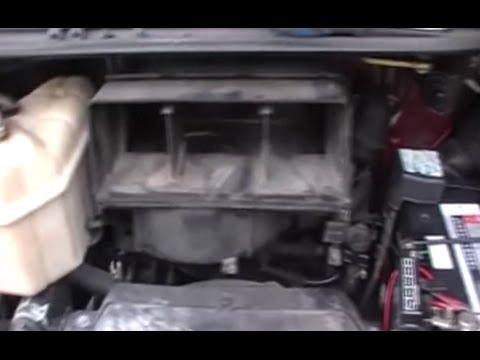 2007 Toyota Yaris Wiring Diagram Front Air Vent Inlet Tarago Previa Estima Tcr Youtube