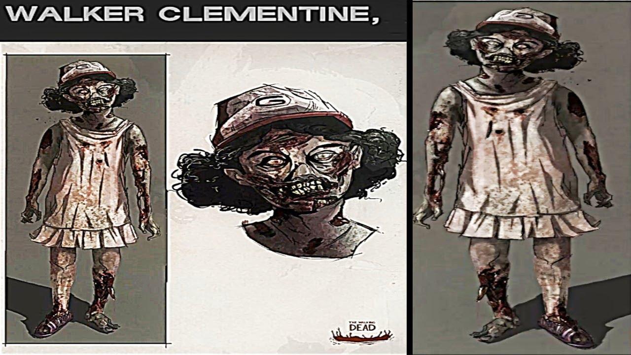 Walker Clementine The Walking Dead