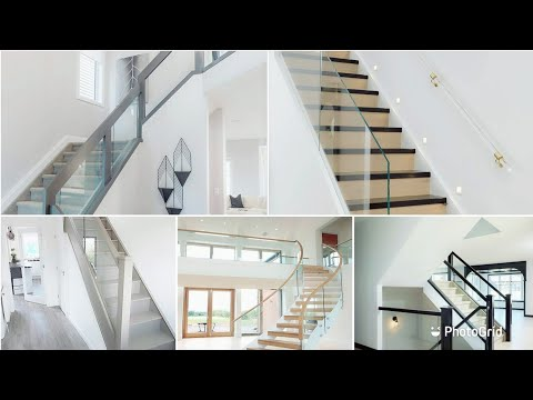 stairs-and-staircase-steel-glass-railing-design-with-price||beautiful-designs-ideas