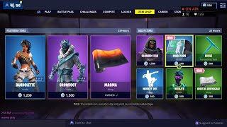 *NEW* MARATHON MUSIC PACK, DIGITAL GRAYSCALE WRAP - April 15th Fortnite Daily Item Shop LIVE