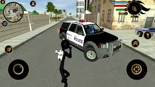 Real Stickman Crime Android Gameplay HD - One Kick Stick Man!! 😝