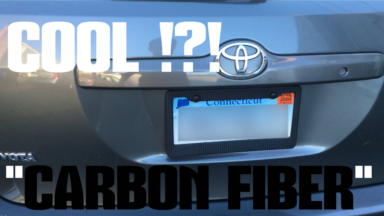 How to make you car license plate look COOL !?! - YouTube
