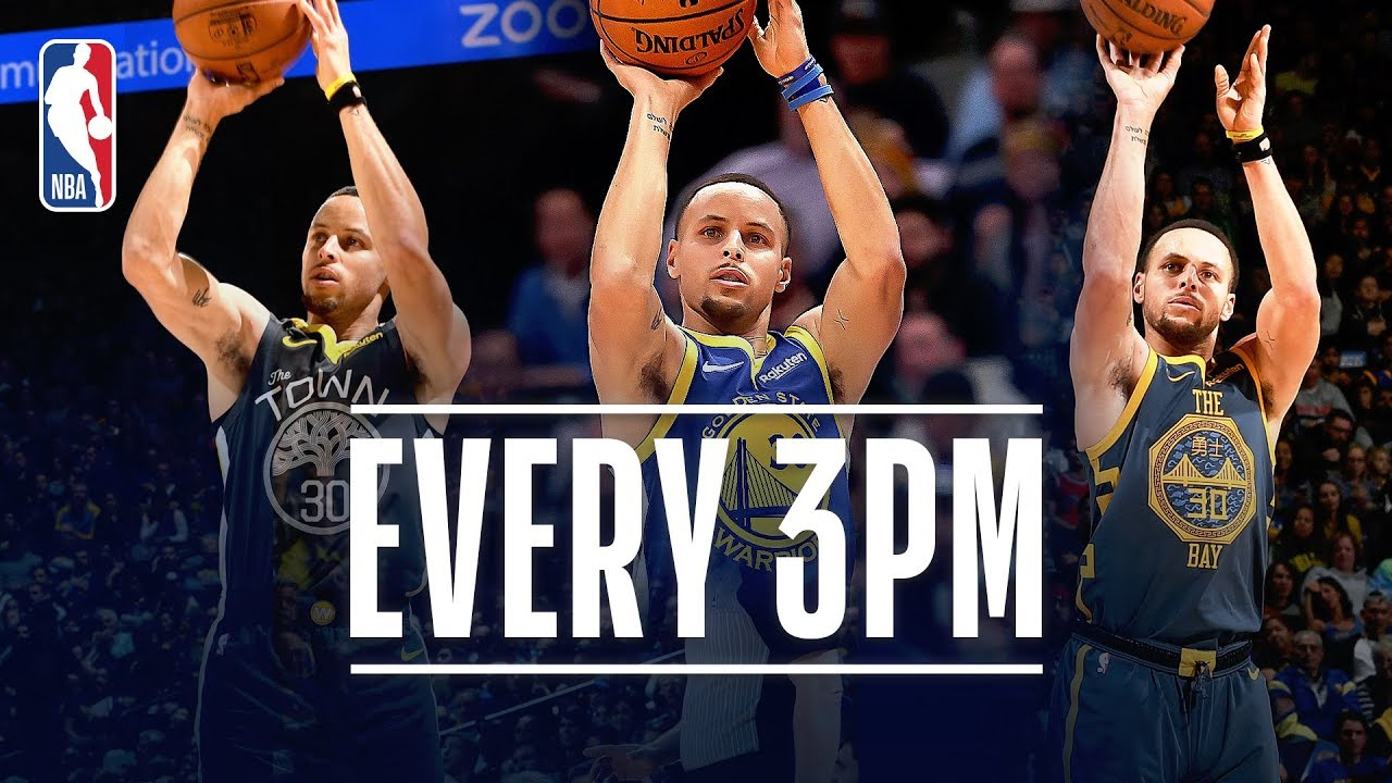 Steph Curry Makes 3-Point HISTORY - YouTube