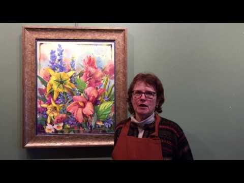 """Susan's Garden"" by Nancy Dunlop Cawdrey - Heart of the West Auction - Lot 62"