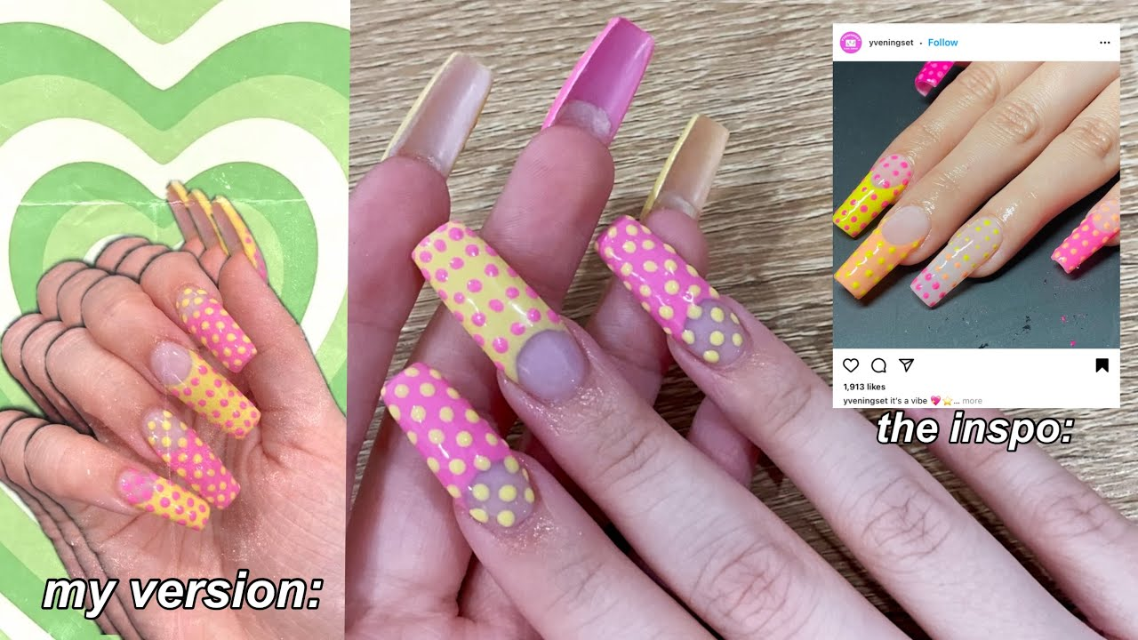 How To Do Your OWN Nail Designs At HOME