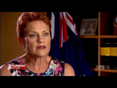 Pauline Hanson comments on Sydney school where muslim boys refuse to shake hands with women