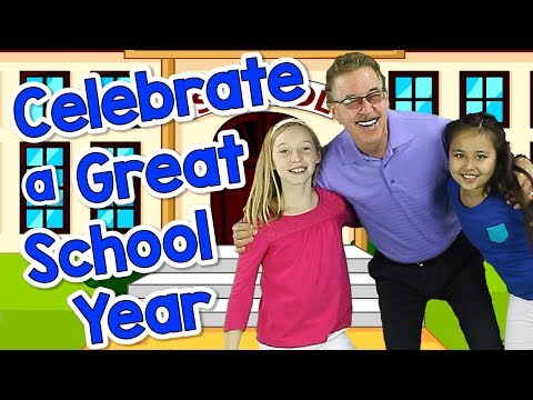 Celebrate a Great School Year | Graduation Song for Kids | Jack Hartmann