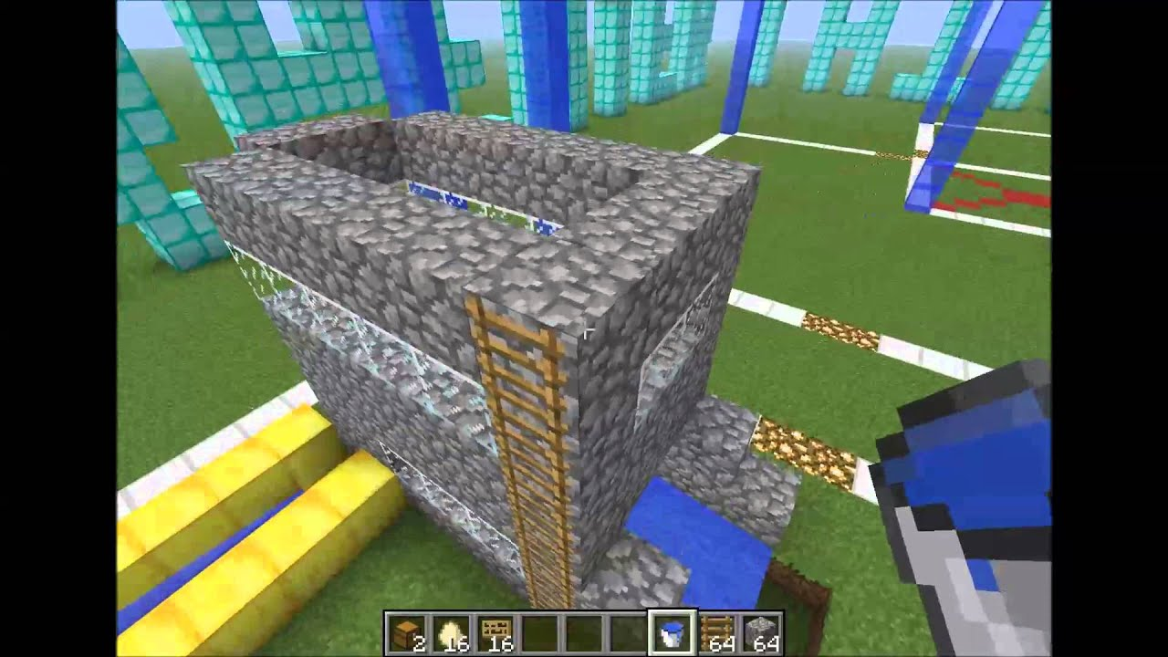 Minecraft 1 4 7 c mo hacer una granja de gallinas for Como hacer una granja de peces