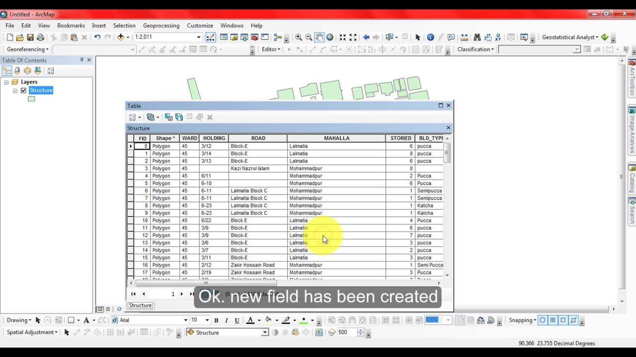 How To Calculate Area In Arcgis From Attribute Table