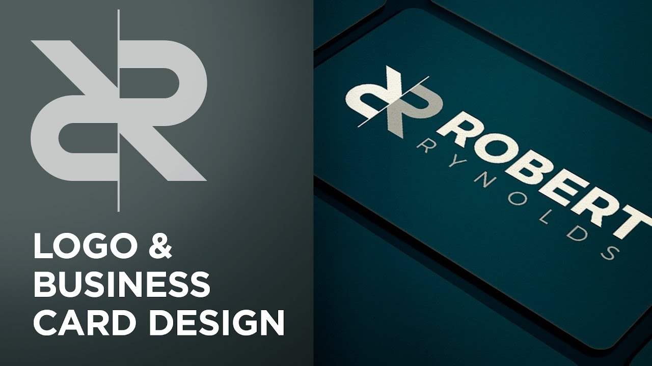 logo and business card design adobe illustrator photoshop