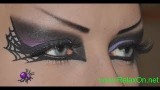 Макияж Ведьма на Хэллоуин(Подробности этого макияжа и другую интересную информацию о Хэллоуине смотрите здесь: http://www.relaxon.net/krasota/makiyazh..., 2013-10-10T18:07:36.000Z)