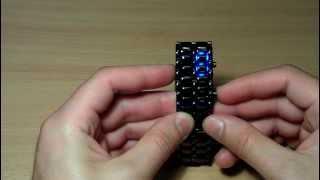 Часы светодиодные Железный Самурай - Iron Samurai LED watch