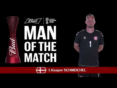 Kasper SCHMEICHEL (Denmark) - Man of the Match - MATCH 52