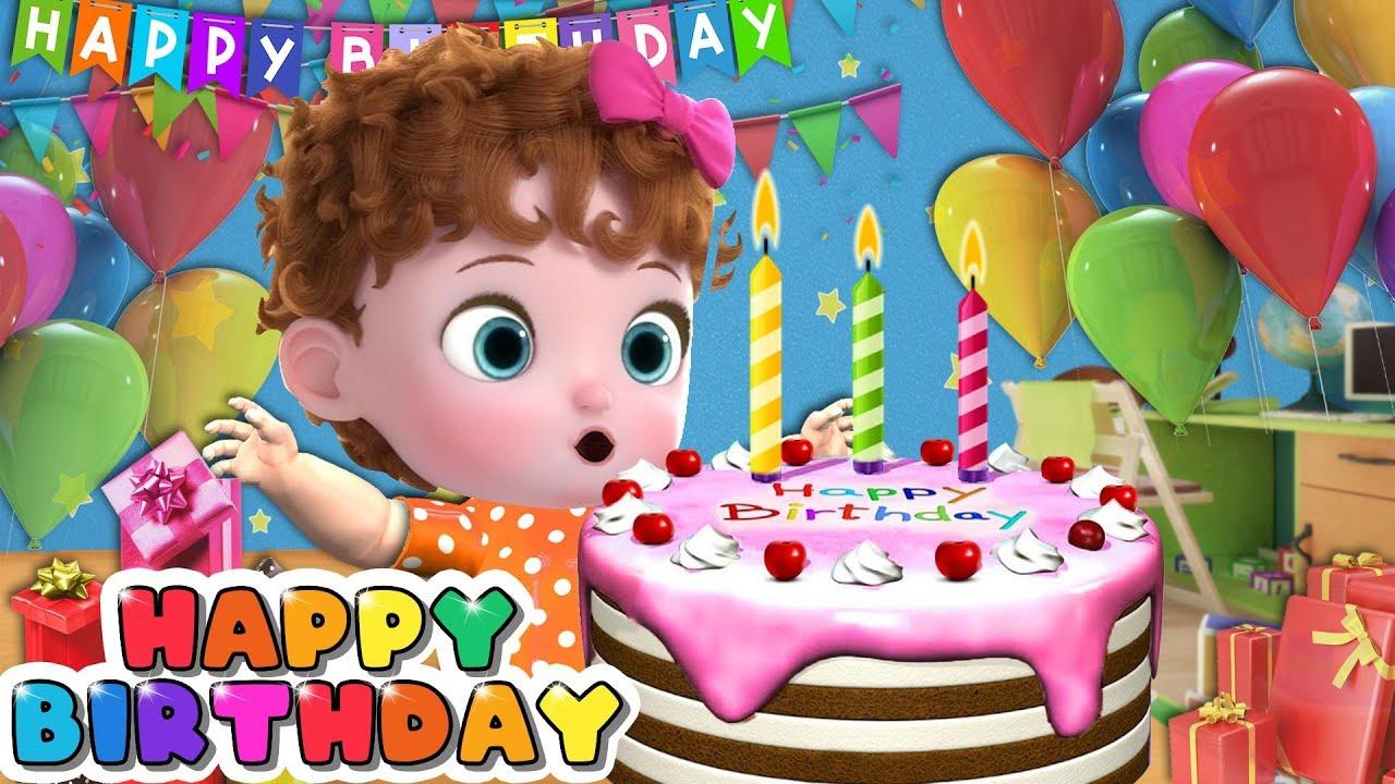 Funny Baby Back To School - Happy Birthday Song | Nursery Rhymes & Kids Songs