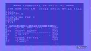 How to run load games on the commodore 64 C64