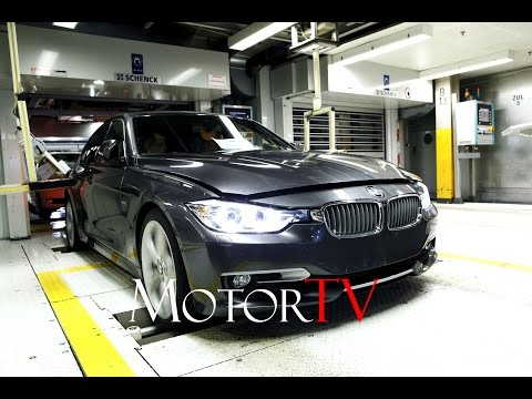 CAR FACTORY : BMW 3 SERIES (F30/F31) PRODUCTION l ASSEMBLY LINE