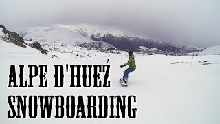 Alpe D'Huez snowboarding + ice cave 2016 thumbnail