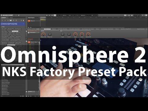 Omnisphere 2 NKS Factory Library Preset Pack #MaschinePacks