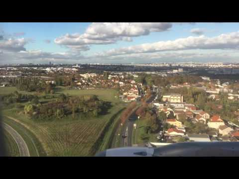 [HD] 2016 - Landing Paris Orly Airport / Airbus A319 TAP TP442 - Atterragem - Atterrissage Orly