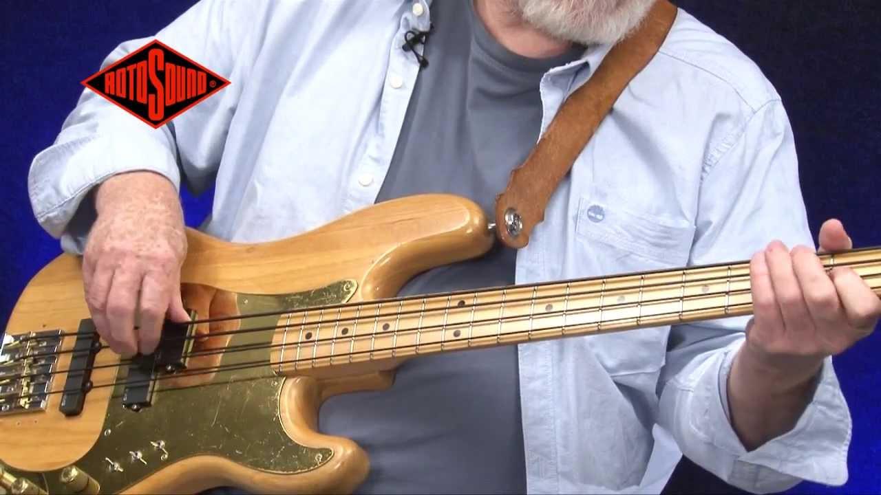mo foster rotosound tru bass 88 bass guitar strings youtube. Black Bedroom Furniture Sets. Home Design Ideas