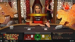 Live Dragon Tiger Baccarat Ups & Downs Highlights