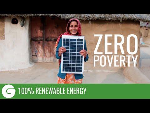 100% Renewable Energy Zero Poverty