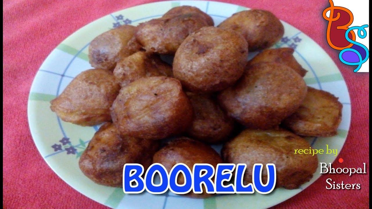 POORNAM BOORELU - How to cook purnam boorelu at home easily