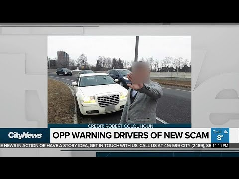 OPP warning drivers of a new roadside scam