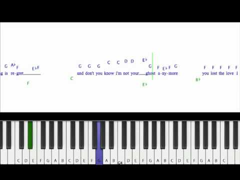 How To Play Jar Of Hearts Christina Perri Piano Cover Tutorial W