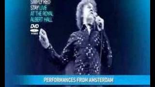 Simply Red Live At The Royal Albert Hall DVD
