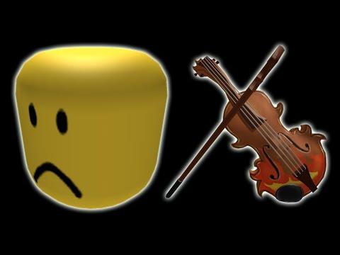 Sad Violin But It's The ROBLOX Death Sound