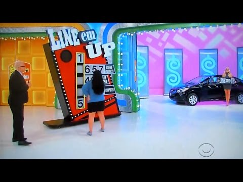The Price is Right - Line Em Up - 1/10/2017