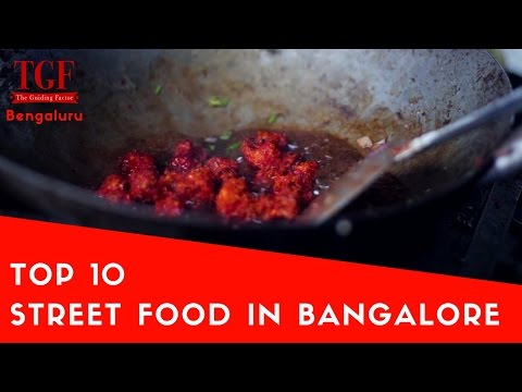 Top 10 street food I Must have south India Food I Things to eat in Bengaluru