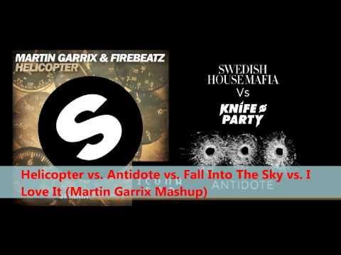 Helicopter vs. Antidote vs. Fall Into The Sky vs. I Love It (Martin Garrix Mashup)