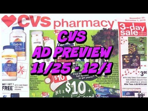 CVS AD PREVIEW 11/25 - 12/1 | FREE FOOD ITEM & MORE!