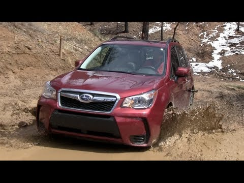 2017 Subaru Forester Xt Muddy Off Road Drive Review