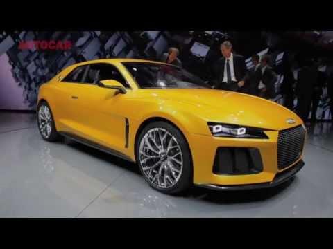 Audi Quattro coupé concept - Frankfurt motor show