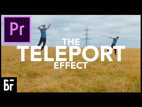 EASY Teleport Effect In Adobe Premiere (No Plugins!)
