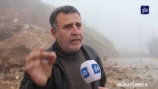 انهيارات الصخور والأتربة هاجس يؤرق سكان مدينة عنجرة (16/1/2020)