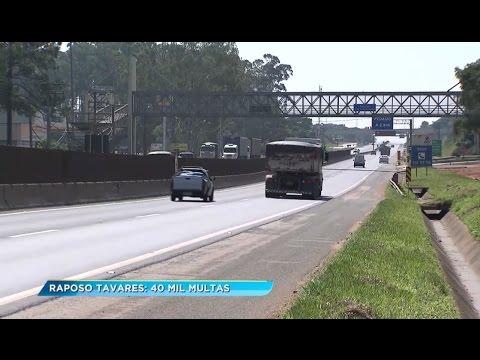Perigo na rodovia Raposo Tavares, em Araçoiaba