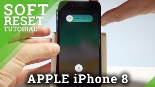 How to Soft Reset iPhone 8 - Force Restart on APPLE iPhone 8 |HardReset.Info