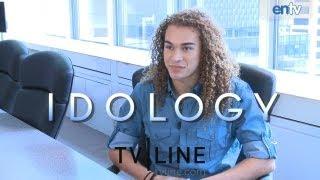 "Deandre brackensick ""american idol"" interview - idology: entv"