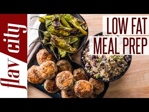 Low Fat Meal Prepping For Weight Loss - Healthy Meal Planning