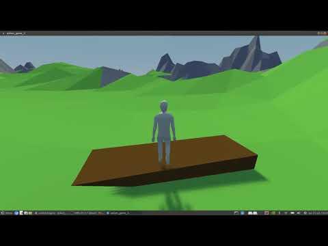 Godot - Nvidia Flex devlog progress 1 - Body particle + Constraints