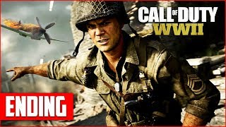 Call of Duty WW2 Campaign Ending Gameplay Walkthrough, Part 3! (COD WW2 PS4 Pro Gameplay)