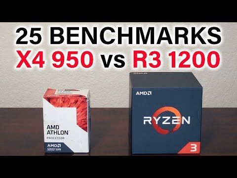 AMD Athlon X4 950 vs Ryzen 3 1200 - Which Should You Buy?
