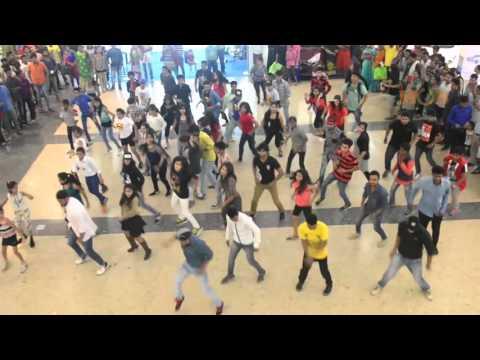 Flash Mob at DB City, Bhopal
